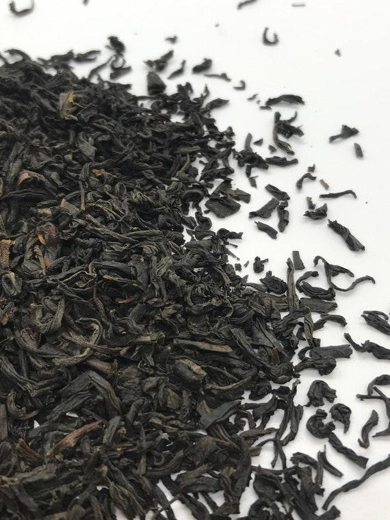 Loose leaf tea, lapsang souchong black tea