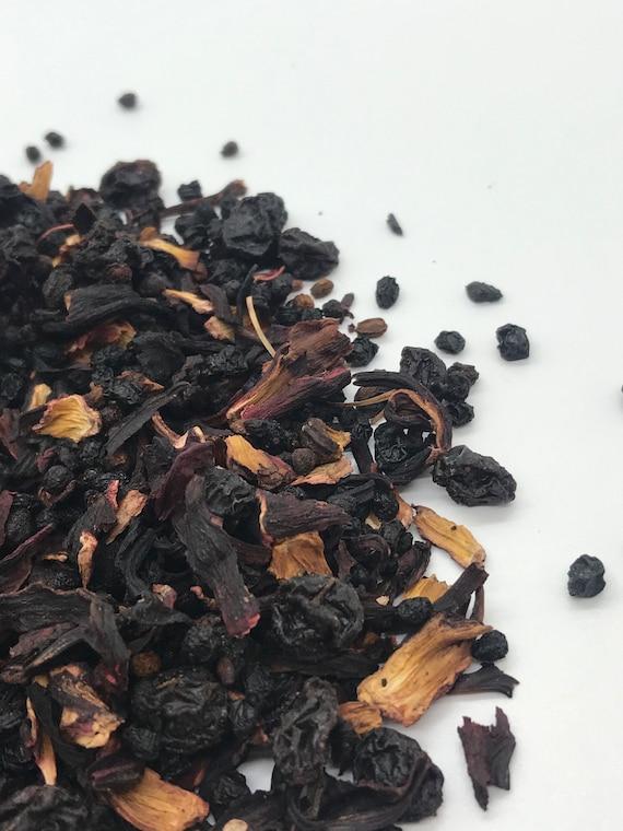 Loose leaf tea, Berry berry fruit and herbal tea