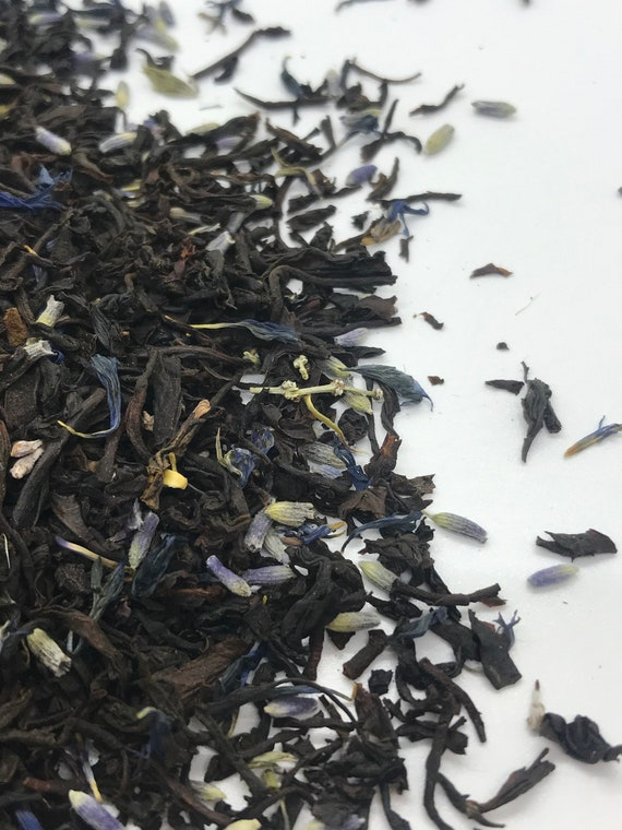 Loose leaf tea, Lavender earl grey tea