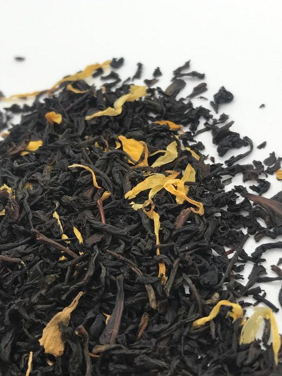 Loose leaf tea, Monk's blend flavored black tea
