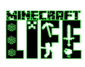 Minecraft Svg Files Etsy