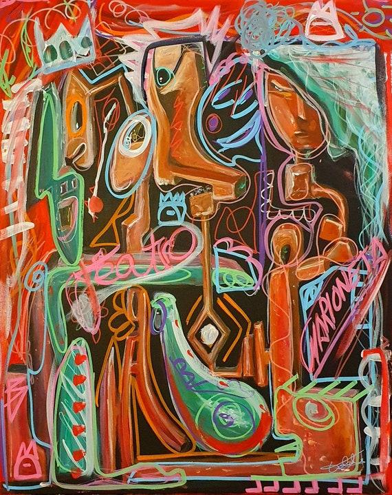 MARIONETAS (81 x 65 cm)