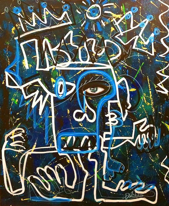THE ARTIST  (73 x 60 cm)