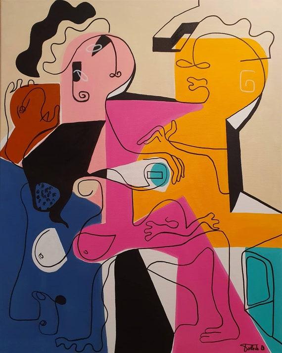 AM LETTEN (81 x 65 cm)
