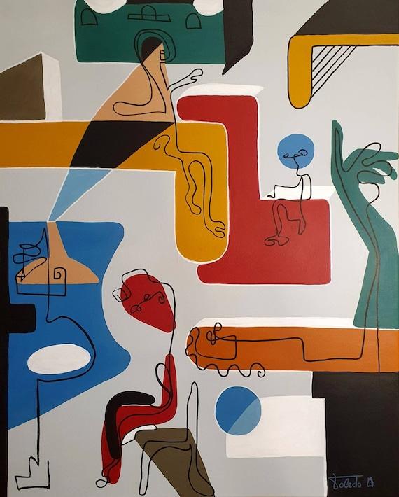BELLEVUE AFTERNOON (81 x 65 cm)