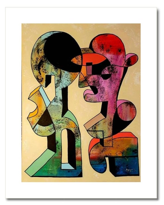 "Fine Art Print: ""IMPERFECT LOVE"""