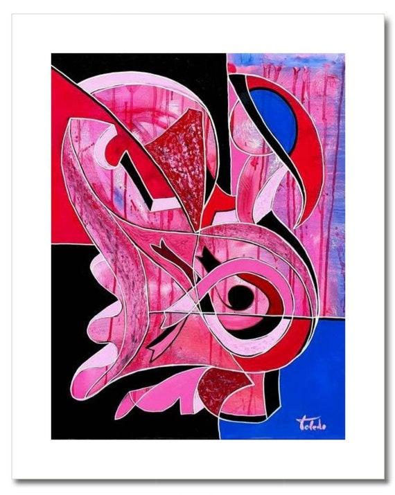 "Fine Art Print: ""PINK DANCE"""