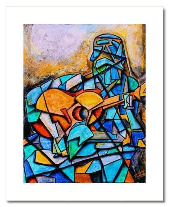 """Fine Art Print: """"EL GUITARRISTA"""""""