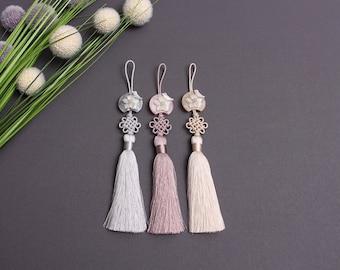 Hanbok Accessory NORIGAE Ornament Tassel Korean Traditional Dress Accessory Mother-of-pearl nacre