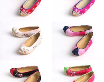 Hanbok Shoes for Girl Baby Korea Traditional Dress First Birthday Party Dol 6 Designs