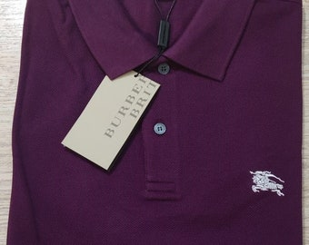 Vintage 90/'s Team 365 Purple Polo Shirt Size MED