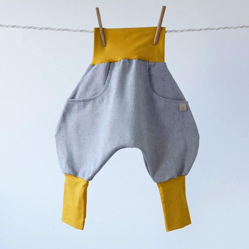 Knickerbocker Grey Mouse Mustard/Grey  Wish 98/104 EU kids'