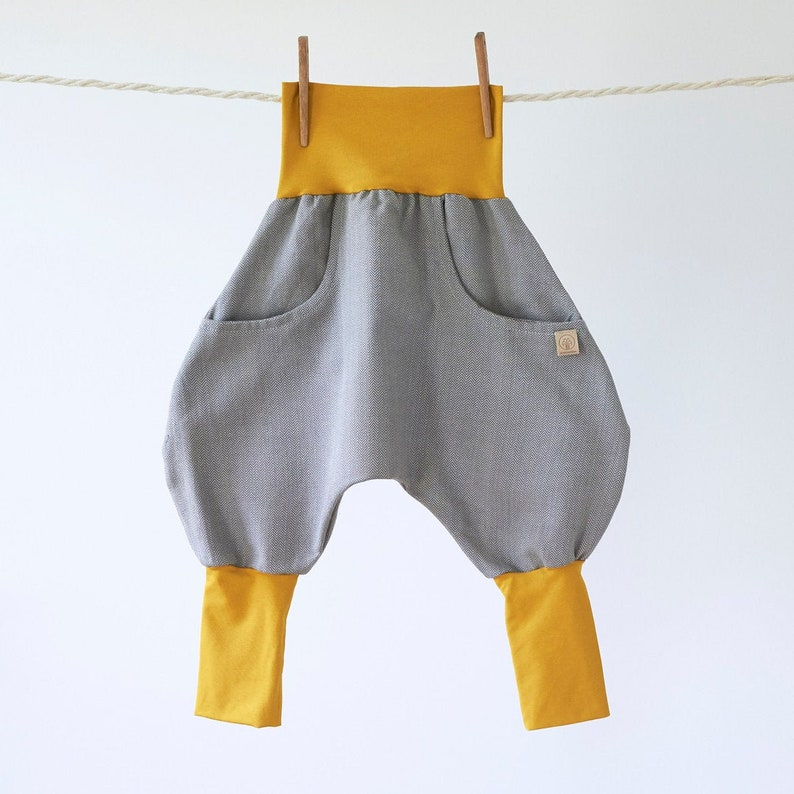 Knickerbocker Fishbone Mustard/Grey  Wish 98/104 EU kids'