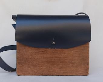 Handmade wooden bag