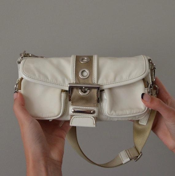 Vintage Authentic Prada Nylon Shoulder Bag