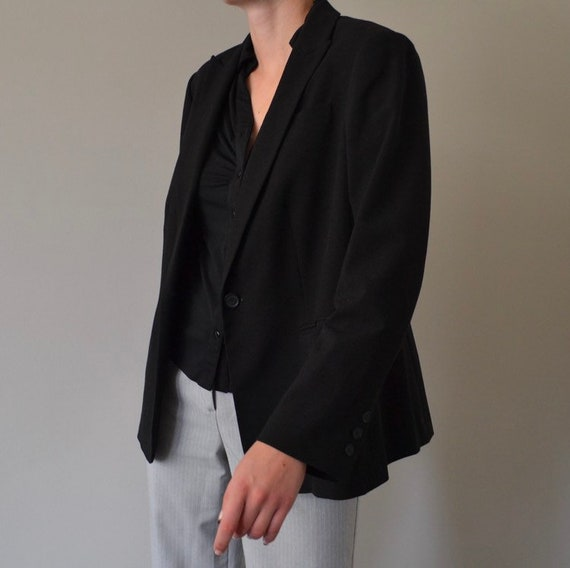 Black Calvin Klein Oversized Blazer