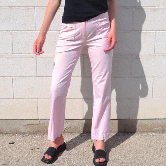 Y2K Pink Cargo Pants