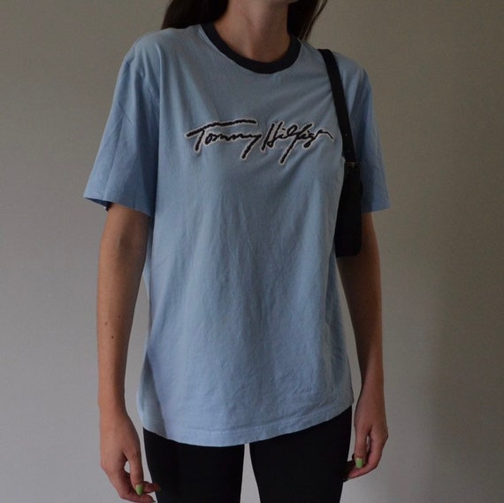 Baby Blue Tommy Hilfiger Tee