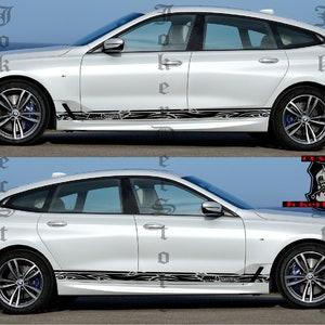 Husband Birthday Christmas Gifts for Boyfriend BMW M6 Side Door Stripe Custom kit Racing Stickers Set For BMW M6 graphics