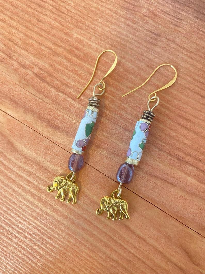 One of a kind funky earrings!