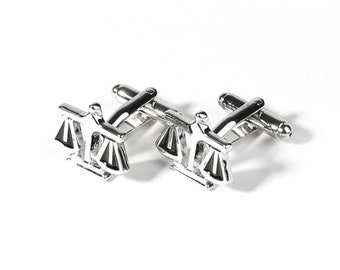 Scales of Justice Cuff Links Judge Cufflinks Scales of Justice Cufflinks Lawyer Wedding Cufflinks,Dome Glass Jewelry