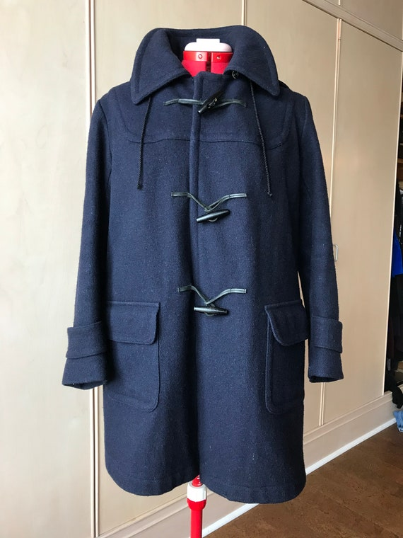 70's Wool Duffel coat