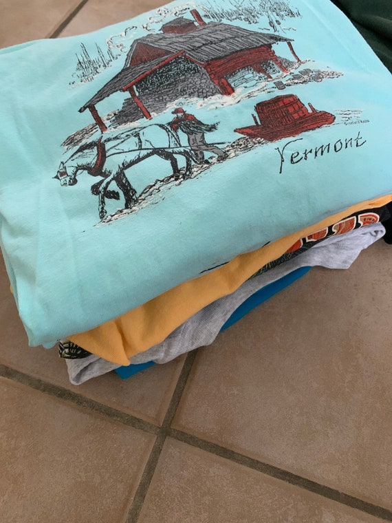 VINTAGE tees wholesale lot | cotton t-shirts | tou