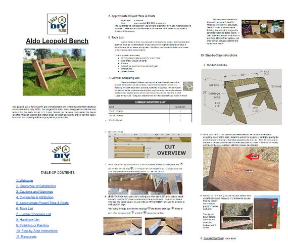 Awesome Digital Plans Aldo Leopold Bench Alphanode Cool Chair Designs And Ideas Alphanodeonline