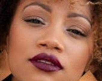 Muah Cosmetics Cream Lipstick | Cabernet | Wine Shade | 4 g. | 0.14 us oz.