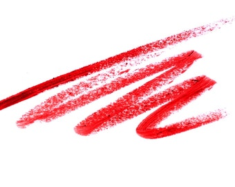 Muah Cosmetics Pencil Lip Liner | Rubis | Red Shade | 1.1 g. | 0.04 us oz.
