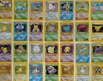 GUARANTEED Vintage Holo and 1st Editions! Pokemon QUALITY 15 Card Lot