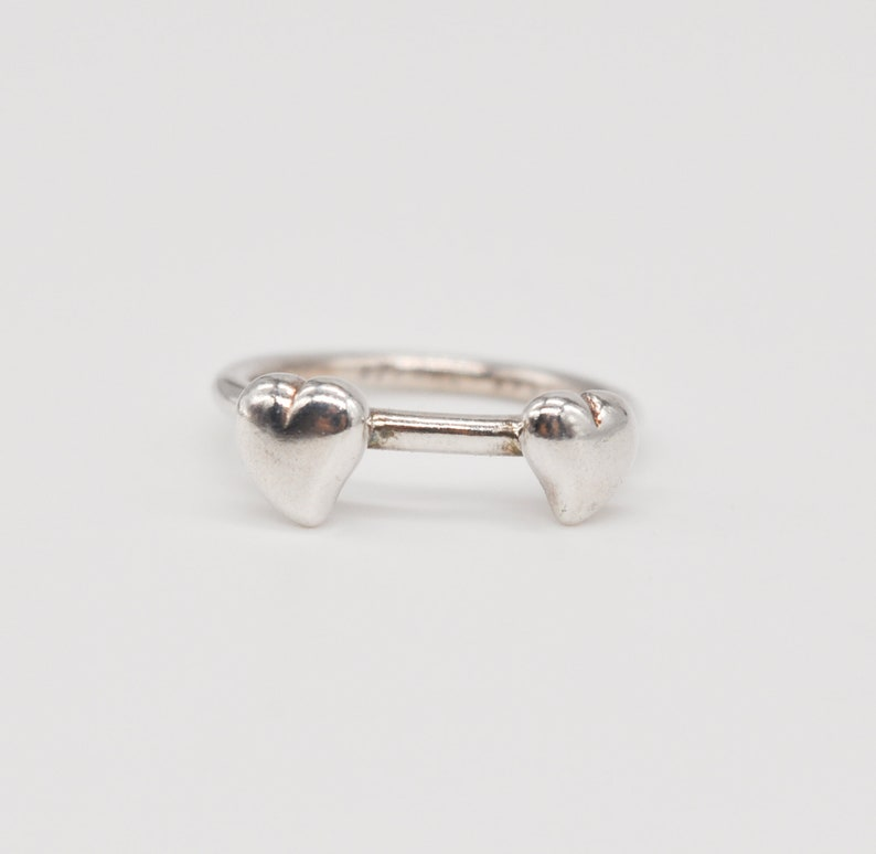 Size Hans Henrik Nygaard Danish 925 Silver Stacking Ring about 15 mm US 5