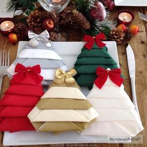 Christmas Napkins Etsy