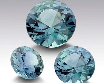 Beartiful 6mm South African Blue Topaz Gems Round Loose Beads 15/'/' AAA