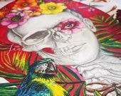 Frida Kahlo A4 Artwork