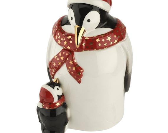 Pimpernel Spode Penguin Candy Jar