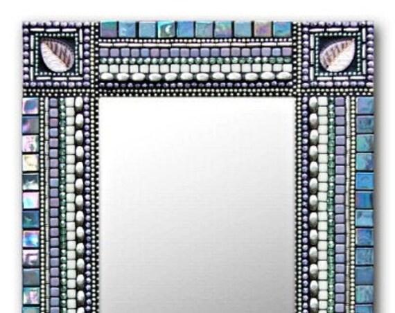 Artisan's Lagoon Mosaic Handmade Wall Decor Rectangle & Square Shapes.