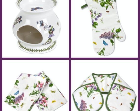 4 Pieces Kitchen Gift Set Botanic Garden Portmeirion