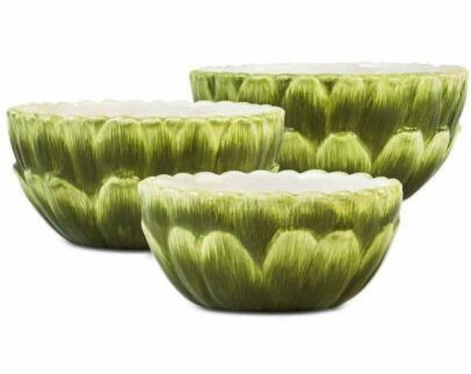 Martha Stewart's Rare Nesting Bowls Set Of 3 -New In Box Apply 20% Discount-Free Shipping