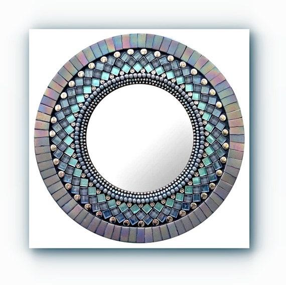 Grey Lace Zetamari Mosaic Handmade Wall Decor