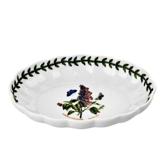 Fluted Oval Dish ByPortmeirion Botanic Garden