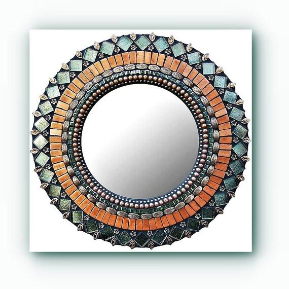 Woodland Shimmer Zetamari Mosaic Handmade Wall Decor