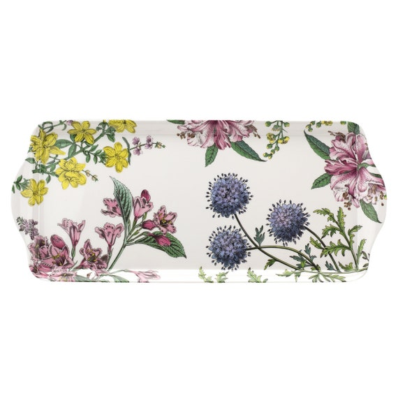 SOLD OUT-Sara Miller London Stafford Blooms Sandwich Small And Large Trays