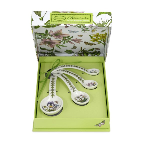 Portmeirion Botanic Garden Set of 4 Measuring Spoons
