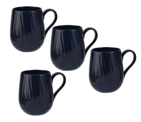 Set Of 4 15oz Mugs Blue Oak By Sophie Conran Portmeirion