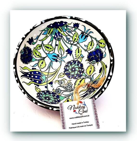 Naakas Cini Handmade Ceramic Bowls Sets From Turkey-  Small & Large