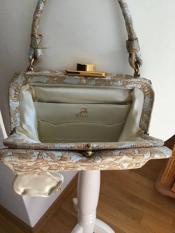 Elegant Koret Evening Bag Gold/Silver Colors - image 5