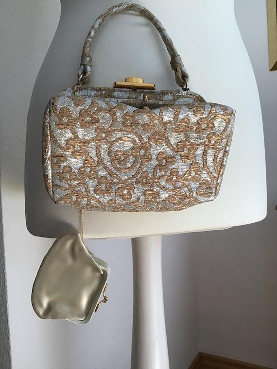 Elegant Koret Evening Bag Gold/Silver Colors - image 2