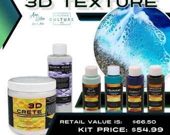 3D Texture Kit by Counter Culture DIY