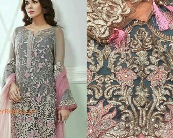 POLLO PRATO ready made cucito Pakistano Indiano Suit Donna Pantaloni PATIALA
